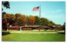 1950s/60s White Pines Forest Lodge, Oregon, IL Postcard