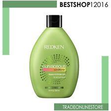 Redken Curvaceous Conditioner 250 ml Capelli ricci e mossi Balsamo Curl DONNA