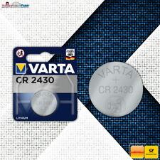 Varta CR2430 Knopfzelle 2430 Knopfzellen MHD: 09-2029 Bulk oder Blister Neuware