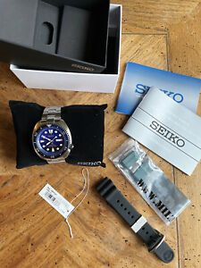 SEIKO Prospex Turtle SRPC91K1 Save The Ocean Automatic Diver Watch Strapcode