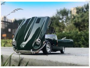 1/18 1971 Jaguar E-TYPE Roadster Road Signature Diecast Car Model Toys Green
