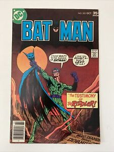 Batman #292  - Nice Mid Grade -Combine Ship - Huge Collection- The Riddler