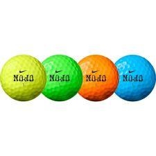 24 Nike MOJO (Mixed Colours) Lake Golf Balls - MINT / GRADE A - Ace Golf Balls