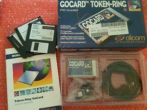 Olicom GoCard Token Ring C30 PCMICA CardBus 16Bit Notebook