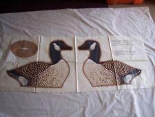 WILD BIRDS COLLECTION ~ Canada Goose Fabric Panel ~ VIP Cranston