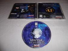 Unreal Tournament (1999) - Mac Macintosh CD Computer game Complete