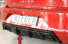 Rieger Heckeinsatz schwarz glänzend für Seat Ibiza (KJ)/ FR (KJ): 01.17-