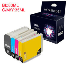 Compatible 4 Ink Cartridge With HP 940XL Officejet Pro 8000 8500 A809 8500