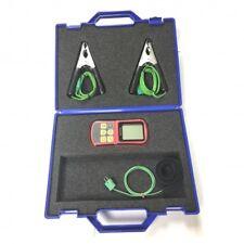 HVAC Kit in case, digital meter, type K Velcro Thermocouple, 2 Pipe Clamp Probes