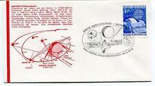 1974 Mariner 10 Venus Merkur Atlas Erste Merkursonde Werbeschau AIA SAT