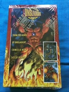 Marvel Onslaught Ultra Cards Trading Cards Box - Fleer - Factory sealed