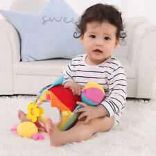 Toddler Toys Soft Activity Cube Educational Baby Flush Toy Soft Hand Grab Ball