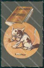 Personaggio Gabriele D'Annunzio Il Fuoco Sgrilli serie 1993-1 cartolina XF6798