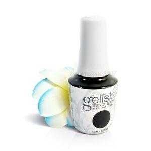 Harmony Gelish UV Soak Off Gel Polish 1110830 Black Shadow 0.5oz