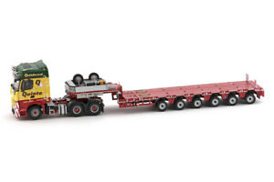 1:50 Scale IMC Models 5512389 Mercedes Benz Arocs & Nooteboom Trailer - QUINTO