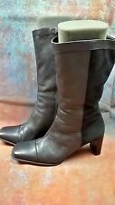 LADIES NATURALIZER LEATHER/SUEDE BOOTS  UK 6
