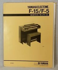 215-I 215U-TR Pick 1 Yamaha Electone Organ Service Manuals: 105 through 215U
