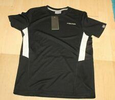 Head Kinder Tennis Trikot Shirt Schwarz Gr 164 Neu