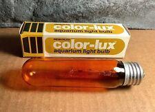 25W Incandescent Aquarium Bulb | Fits E26 Socket | Amber