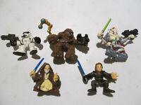 Star Wars 5 figures lot 2001-2004 Galactic Heroes Anakin General Grievous Kenobi