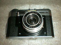 VINTAGE RARE HAMANO 35 FILM CAMERA TOKINON 1:2.8 4,5cm Lens ASIS UNTESTED