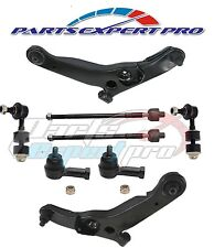 2003-2006 MITSUBISHI OUTLANDER CONTROL ARM TIE ROD END SET & SWAY BAR LINK KIT