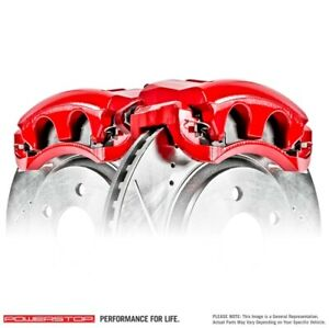 Power Stop S4754 Red PC Caliper Rear For 01-10 Mercury Mountaineer NEW