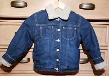 Quilted denim jacket (age 7) from Old Navy