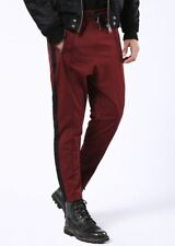 DIESEL Men's New P-Newton Maroon Lounge Pants Size XL FW 2017 Tailored Sweatpant