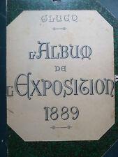 Weltausstellung 1889, Glugq Weltausstellung, Exposition universelle,