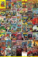"Marvel Comics Poster ""70 Years of Marvel Comics"""