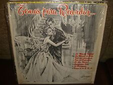 Various Artists - Temas Para Recordar - Mega Rare LP Mint Cond. - Borinquen - L6