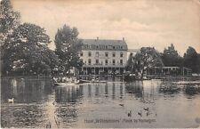 Netherlands Holland postcard Mook by Nymegen, Hotel De Plasmolen ca 1910