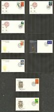 UN-New York #368/391, 1982 Annual Set (less #374-389), OGC FDC No Address