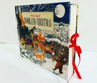 Woodland Christmas Hardcover Pop Up Book Fold Out Lift Flap Marie Angel 1st Ed