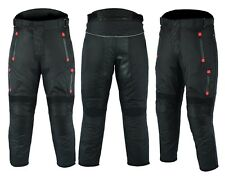 MCW Gear Motorbike Motorcycle Textile Waterproof Cordura Trousers Pants Armours