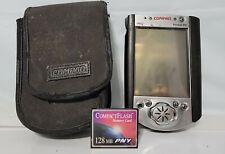 Compaq iPaq Pocket Pc Color Handheld Pda Flash Card Windows Os Untested A6