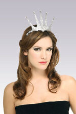 Fancy Dress Costume Snow White Snow Queen Princess Tiara Crown - 7490