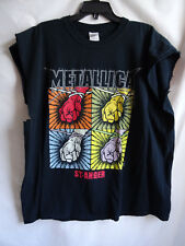 Vtg 2003 Metallic Concert Tour T Shirt Tee 2XL St. Anger Fillmore May 18-22