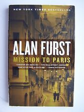Alan Furst Mission To Paris Spy WWII Thriller Paperback