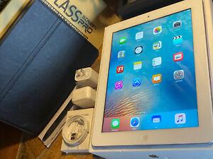 "Apple iPad 3rd (64gb) Cellular Unlocked (A1430) Retina 9.7"" White MiNT {iOS9}99%"