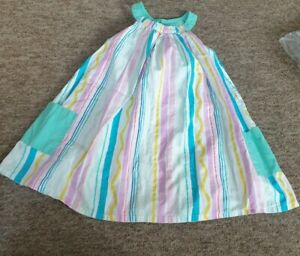 Marks & Spencer candy stripe dress age 3-4 years