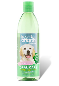 TropiClean Oral Care Water Additive Puppies 473ml Fights Plaque Tartar for Dog