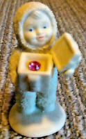 1999 Department 56 Snowbabies- A Gift For You- RUBY Swarovski Crystal- JULY BS