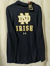 NWT Under Armour Notre Dame Fighting Irish Mens Hoodie Pullover Sweatshirt Sz XL