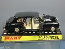 DINKY TOYS modello No. 152 ROLLS ROYCE PHANTOM V Limousine + passeggeri VN MIB