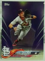 2018 TOPPS SERIES 1 TOYS R US PURPLE BORDER PARALLEL CARD OF RANDAL GRICHUK #147