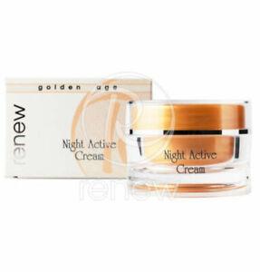 Renew Golden Age Night Active Cream 250ml + Freebie