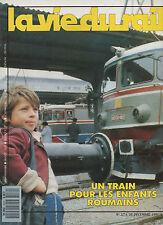 la vie du rail N°2274 train pour les enfants roumains  1990
