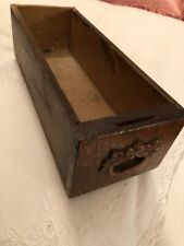 ANTIQUE SEWING MACHINE OAK CARVED WOOD CABINET DRAWER